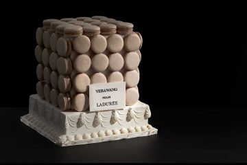 vera wang pour laduree wedding cakes