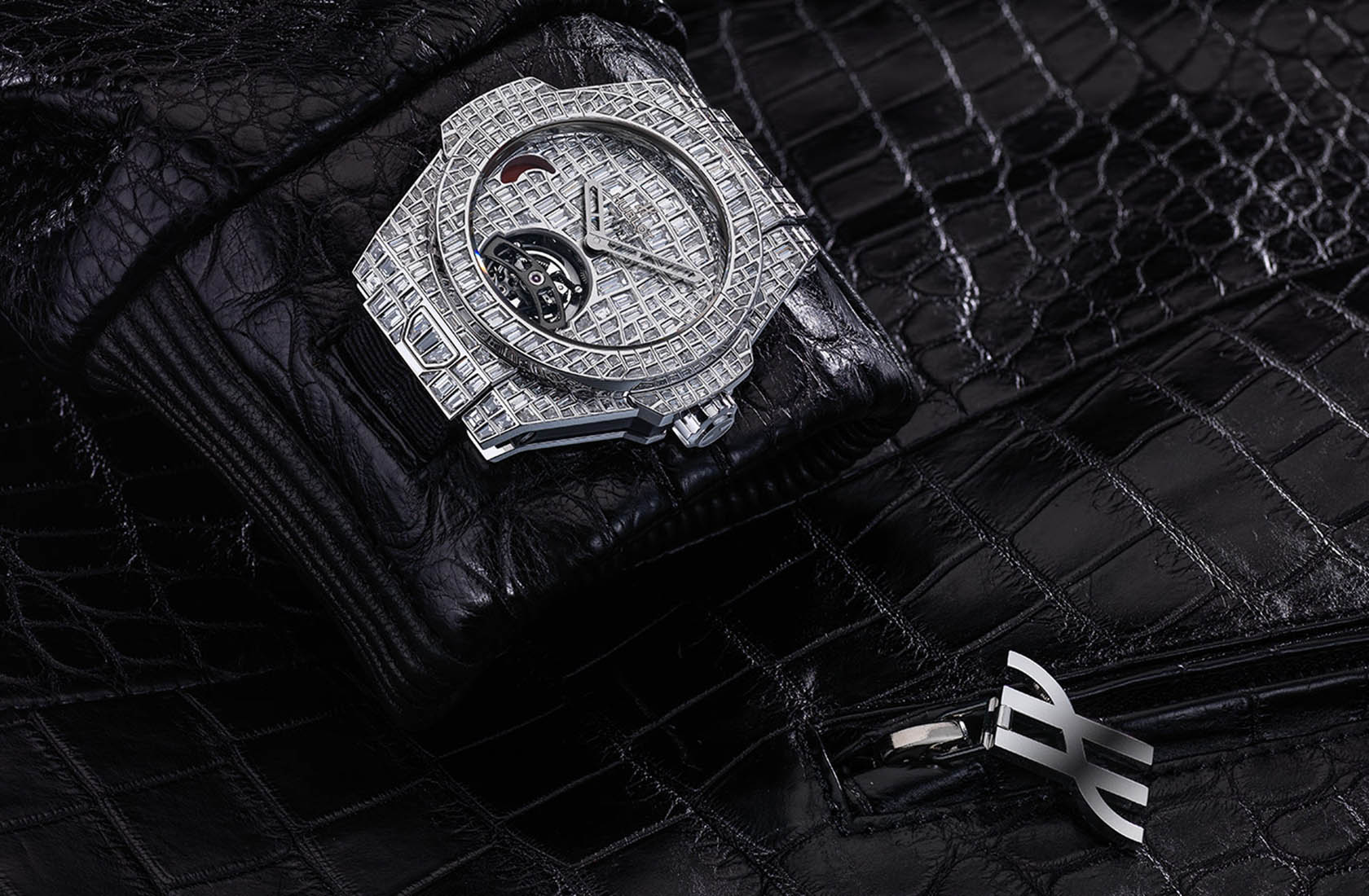big bang tourbillon croco