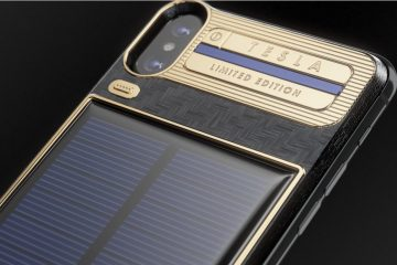 caviar custom iphone x tesla